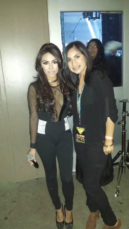 Nena Guzman y Natalia de La Poderosa